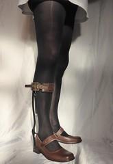 Mary Jane's new brace (JKiste2008) Tags: afo leg brace