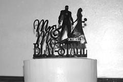 Wedding Cake Topper in B&W (photomama777) Tags: 2016 wedding cake topper marvel iron man