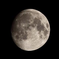 20190217_IMG_5807-trm (NAMARA EXPRESS) Tags: astronomy moon lunar age127 satellite universe space star nature night midnight tripod winter fine outdoor color toyonaka osaka japan canon eos 7d tamron sp 70300mm f456 zoom namaraexp