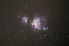 M42+M43 Orion (fateish) Tags: orion m42 m43 deep sky canon astro stack dslr night nacht winter running man nebula nebel