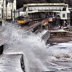 Dawlish Station and Storm Freya thumbnail