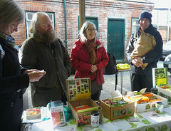 March 2nd, 2019 RFGN seed swap at the Reading Farmers' Market (karenblakeman) Tags: readingfarmersmarket greatknollysstreet reading uk readingfoodgrowingnetwork rfgn seedswap march 2019 2019pad berkshire
