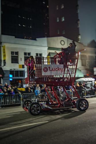 Lucky Shopping Cart Dragster