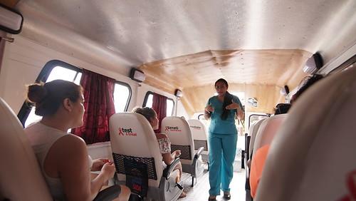 AHF Peru Testing Boat