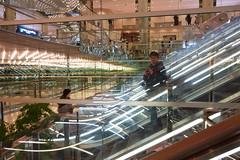 20190302_RX_02625 (NAMARA EXPRESS) Tags: travel construction structure escalator reflection light mirror marion daytime spring indoor color yurakucho tokyo japan sony rx0 dscrx0 carlzeiss tessar t 477 namaraexp