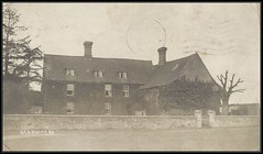 c. 1909 Real Photo Postcard - View of the Manor Farm at Marholm, Cambridgeshire, England, west of Peterborough (Treasures from the Past) Tags: postcard manorfarm marholm marholmfarm cambridgeshire england peterborough 1908 realphotopostcard