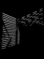 Not locality (Listenwave Photography) Tags: light art contrast listenwavephotography shadow dark pattern cross geometry quantum notlocality 黑白摄影 blackandwhite artistic fineart walls dots bnw listenwave