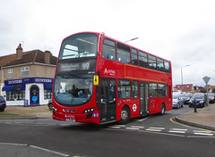 AL DW430 - LJ11ADV - BARNEHURST ROAD - TUE 2ND APR 2019 (Bexleybus) Tags: barnehurst road mayplace east bexleyheath kent da7 arriva london 99 tfl route dw430 lj11adv recent refurb wrightbus gemini daf