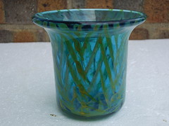 Beautiful Mdina Art Glass Vase Mid Century Modern Made in Malta (beetle2001cybergreen) Tags: beautiful mdina art glass vase mid century modern made malta
