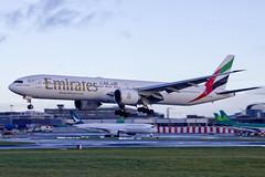 A6-ENC | Emirates | Boeing B777-31H(ER) | CN 41083 | Built 2012 | DUB/EIDW 20/12/2018 (Mick Planespotter) Tags: aircraft airport 2018 dublinairport flight collinstown nik sharpenerpro3 a6enc emirates boeing b77731her 41083 2012 dub eidw 20122018 b777