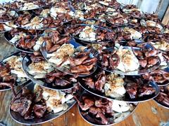 Pigeon and chicken (MelindaChan ^..^) Tags: jiangmen china 江門 chanmelmel mel melinda melindachanfood eat meal dish plate chicken pigeon 石板沙 life chinese melindachan village