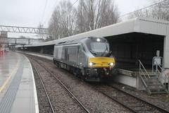 68013 Stafford (tractor37194@googlemail.com) Tags: class68 chilternrailways stafford 68013 staffordshire lightengine vossloh diesel locomotive train railways directrailservices 0k69