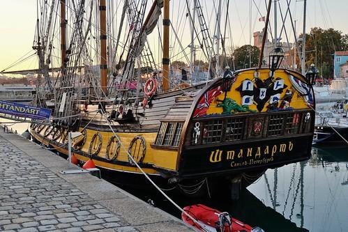 La Rochelle, vieux galion en escale