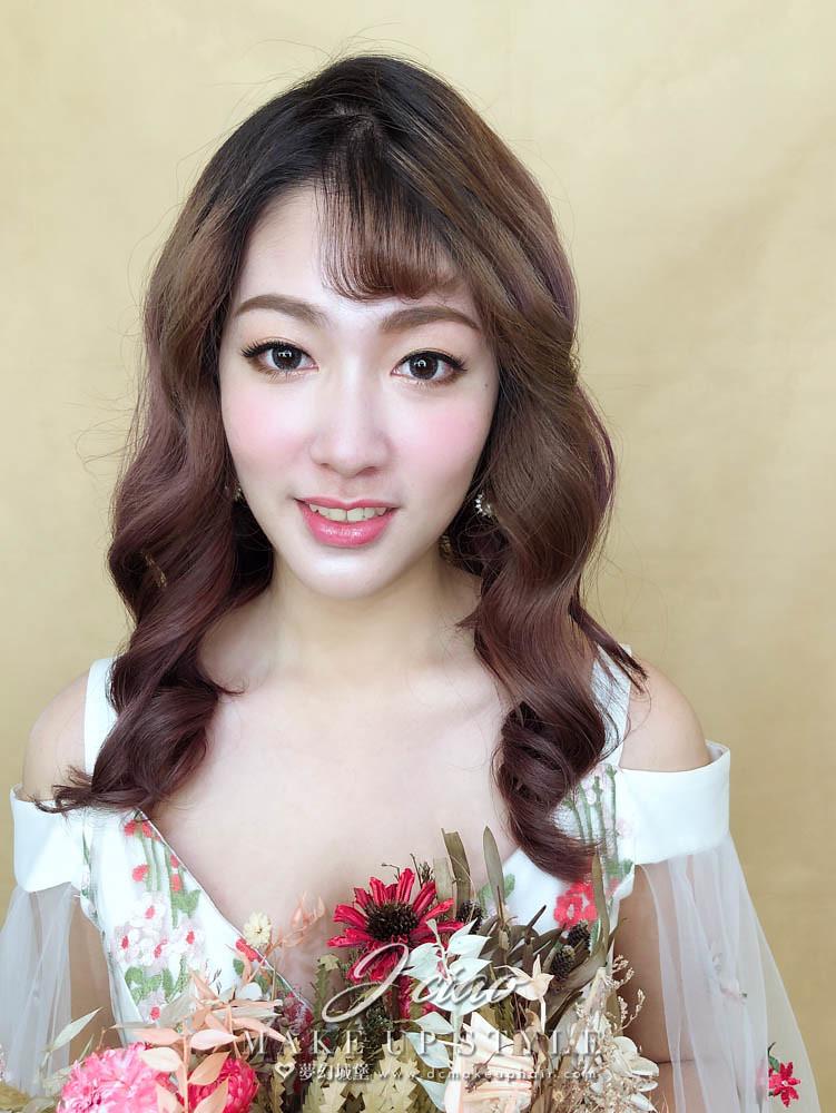 【新秘婕喬】新娘造型創作 / 韓系浪漫風