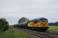 Single Grid (Richard Hagues Photography) Tags: colas 56 096 with preston immingham tanks 56096