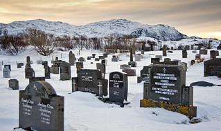 El cementiri de Gåsvær  / Gåsvær graveyard
