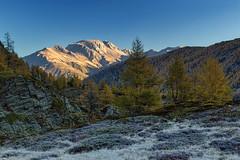 Autunno gelido (cesco.pb) Tags: simplonpass passodelsempione switzerland svizzera autumn autunno alps alpi vallese canon canoneos60d tamronsp1750mmf28xrdiiivcld alba dawn sunrise montagna mountains