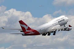Qantas B747 VH-OEJ 01-10-2018 Sydney (Annette_747) Tags: sydneyairport sydney canon queen plane planespotting airline 747 boeing qantas