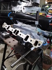 IMG_20190307_204258 (grobertson4) Tags: roverp6 classiccar enginebay restoration