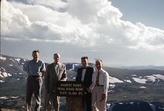 img499 (foundin_a_attic) Tags: kodachrome red 1950s slides trailridgeroad summit colorado estespark