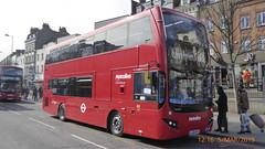 P1150048 VMH2563 LA68 DXE at Angel Station Upper Street Islington London (LJ61 GXN (was LK60 HPJ)) Tags: metroline volvob5lhybrid mcv evoseti mcvevoseti 105m 10490mm vmh2563 la68dxe nb968