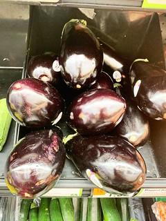 Gorgeous eggplants