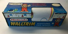 North American Decorative Products Super Mario Bros Nintendo Wall Trim 01 (gamescanner) Tags: north american decorative products super mario bros nintendo wall trim covering walltrim decor sculpted vinyl border upc 058559709011 058559709035 rosewall inc 1989 sku 70902