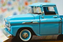 Chevrolet - Day 5 (Janne Tähkäpää) Tags: chevrolet apache fujifilm minoltamdzoom3570f35 macrolens blue xt2 diecast modelcar
