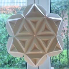 Sonobe Star - Lantern 1 (pia miller) Tags: origami sonobe paperart star