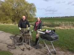 What a handy find! (Tyne Rivers Trust) Tags: volunteering gbspringclean litter pick