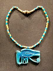 Pectoral en forme d'oeil oudjat avec chaîne en or et en faïence égyptienne, 1336-1326 av. J.-C. (y.caradec) Tags: paris tutankhamon toutânkhamon tutanchamun france europe king tut tutenkhamon tutenkhamen tutankhaten tutankhamun tutankhamen nebcheperre ench amun anch tutanchamon tutanchaton tutenchamun tutanchamón ankh toetankamenarتوت عنخ آمونarzتوت امونasttutankamónazbتوت انخ ענח آمونuztutanxamonvitutankhamunwartutankhamunyiטוטאַנכאַמוןyotutankhamunzhminnantutankhamunzhyue圖坦卡門zh图坦卡蒙 expositiontoutânkhamonletrésordupharaon auxgrandeshallesdelavilletteàparisexhibitiontutankamuntreasuresofthegoldenpharaoh exposition le trésor du pharaon aux grandes halles de la villette à exhibition tutankamun treasures golden pharaoh тутонхомун ฟาโรห์ตุตันคาเมน тутанхамон توت آمون tutanxamon טוטאַנכאַמון 圖坦卡門 图坦卡蒙 תותענחאמון توتانخآمون توتعنخامون توتعنخآمون توتعنخآمون तुथंखमुन তুতানখামেন ਤੂਤਨਖ਼ਾਮੁਨ துட்டன்காமன் തൂത്തൻഖാമൻ ටූටන්ඛාමූන් 투탕카멘