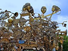 Brass (Multielvi) Tags: baltimore maryland md city artscape sculpture art brass