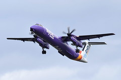 G-PRPE Dash 8-402 Flybe (eigjb) Tags: dublin airport eidw international ireland transport airliner plane spotting aviation 2019 aircraft airplane aeroplane flybe dash8 dhc8 bombardier turboprop dehailland canada dh8d gprpe