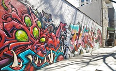 Dave (lotosleo) Tags: streetart graffiti dave lic ny urban graffart outside