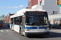 IMG_5117 (GojiMet86) Tags: mta nyc new york city bus buses 2011 xd40 4889 subway shuttle manhattan greenpoint avenue