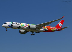 F-WZGT Airbus A350 Sichuan Airlines (@Eurospot) Tags: fwzgt airbus a350 a350900 sichuanairlines toulouse blagnac b306n
