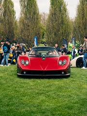 Zonda F (Mattia Manzini Photography) Tags: pagani zonda f supercar supercars cars car carspotting nikon v12 d750 automotive automobili auto automobile italy italia brescia carsandcoffee carbon red spoiler hypercar