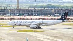 Thai Airways HS-TBD Airbus A330-300 (Kan_Rattaphol) Tags: aircraft airplane airlines a330 a330343 thaiairways tg staralliance bkk vtbs hstbd