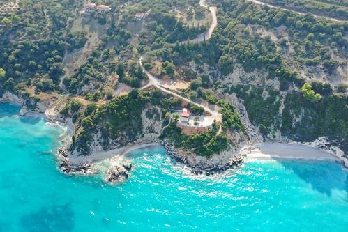 Coast Xigia Beach Zakynthos, Greece