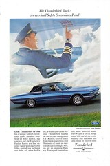 1966 Ford Thunderbird Town Landau USA Original Magazine Advertisement (Darren Marlow) Tags: 1 6 9 19 66 1966 f ford t tbird thunderbird l landau town hardtop c car cool collectible collectors classic a automobile v vehicle u s us usa united states american america 60s