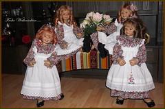 💗💗💗 Frohe Weihnachten 💗💗💗 (Kindergartenkinder 2018) Tags: weihnachten kindergartenkinder annemoni milina sanrike tivi