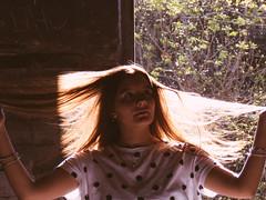 Dafne (holajulieco) Tags: portrait tree forest building abandoned retrato arbol edificio girl