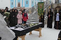 27. Похороны схимонахини Магдалины (Черных) 11.01.2019
