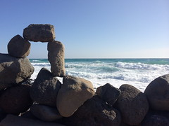Stonehenge by the sea (markshephard800) Tags: stonehenge stones fuerteventura canarias canaries waves sea art ocean seascape