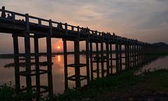 MYANMAR - AMARAPURA (1630) - U Bein Bridge (eso2) Tags: amarapura asia myanmar birmania