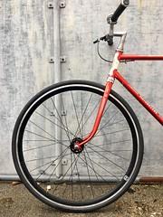 Fixie wheels details (RØDΔ) Tags: motobécane vintage 700c bicycle fixie