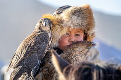 Young hunters #2 (alvytsk) Tags: mongolia hunter eagle berkutchi young boy mongolian animal bird