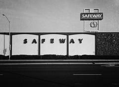 San Jose (bior) Tags: fujifilmga645zi ga645zi 6x45cm sanjose mediumformat 120 trix kodak grocerystore store safeway sign street