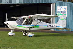 Ikarus C42 FB80 - G-KFCA (TyAviationImages.co.uk) Tags: ikarus c42 fb80 gkfca