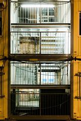 Urban Romance (LowerThirdTierPhotography) Tags: d7200 urban night metal stairs construction street light